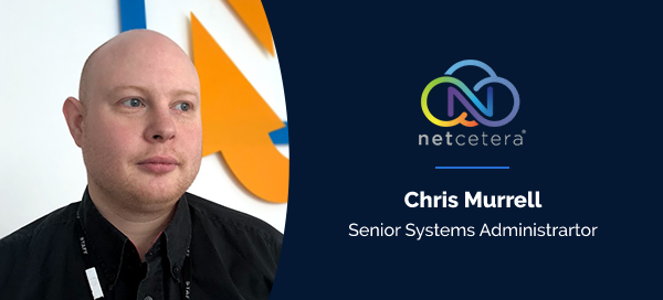 Chris Murrell - Senior Systems Administrator at Netcetera - EasyDCIM Case Study